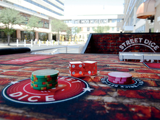 The new game Street Dice is the brainchild of Downtown Grand CEO Seth Schorr
