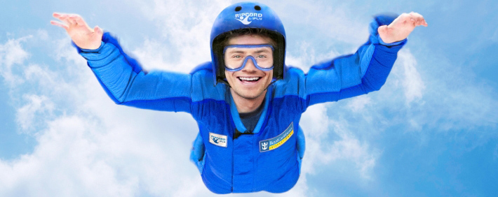 Sky Diving on Royal Caribbean's Ripcord by iFLY