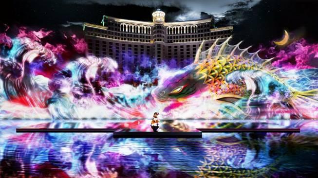 Bellagio Fountains to feature 30-minute Kabuki show Aug. 14-16